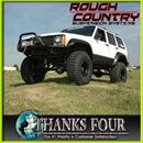 ROUGH COUNTRY (ラフカントリー)1984-2001y JEEP XJチェロキー(2WD/4WD)3インチアップサスペンションキット